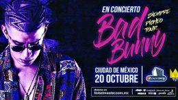Bad Bunny en Concierto CDMX