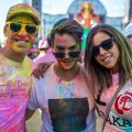 holi dance of colours CDMX