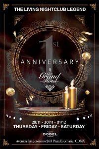 1er aniversario de The Grand Hotel