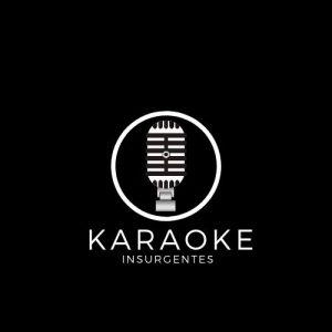 logo negro karaoke insurgentes