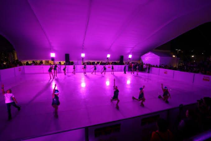 Pistas de hielo gratis en la CDMX. Miguel Hidalgo