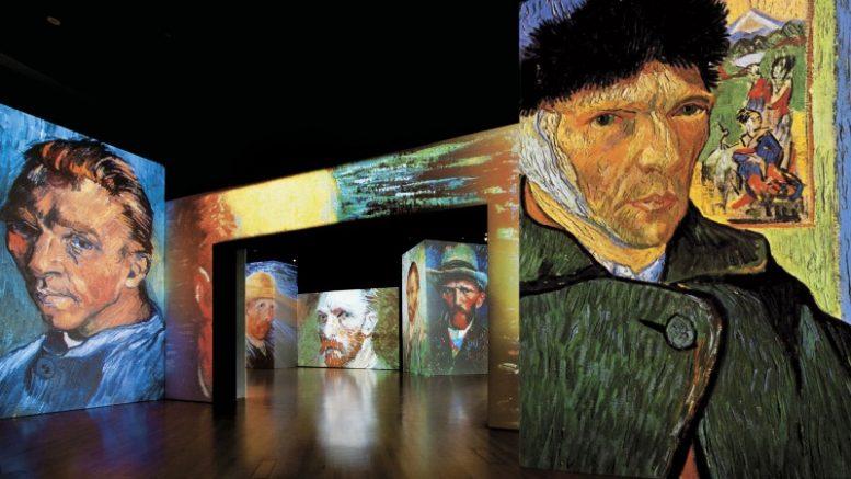 Van Gogh Alive en CDMX