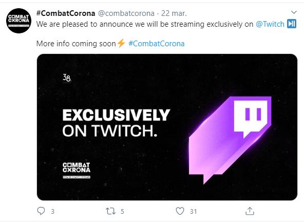 #CombatCorona