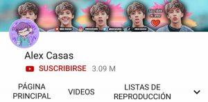 Alex Casas Youtube