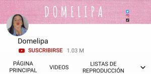 Domelipa Youtube