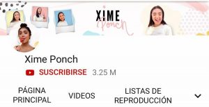 Xime Ponch Youtube