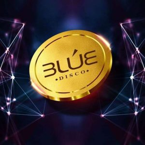 logo blue disco mérida