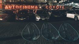 reapertura de Autocinema Coyote